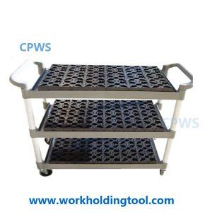 CPWS®-EROWA storage cart for electrode holders