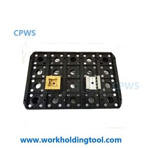 CPWS®-storage tray box for 20 holders,for both EROWA 50,and 3R system 54x54